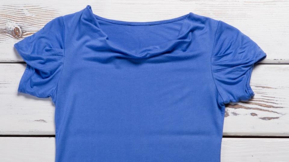 Как да сгънем тениска за 5 секунди
