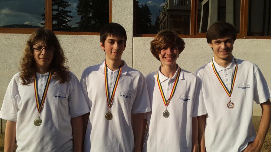 Нови олимпийски медали за отбора по информатика