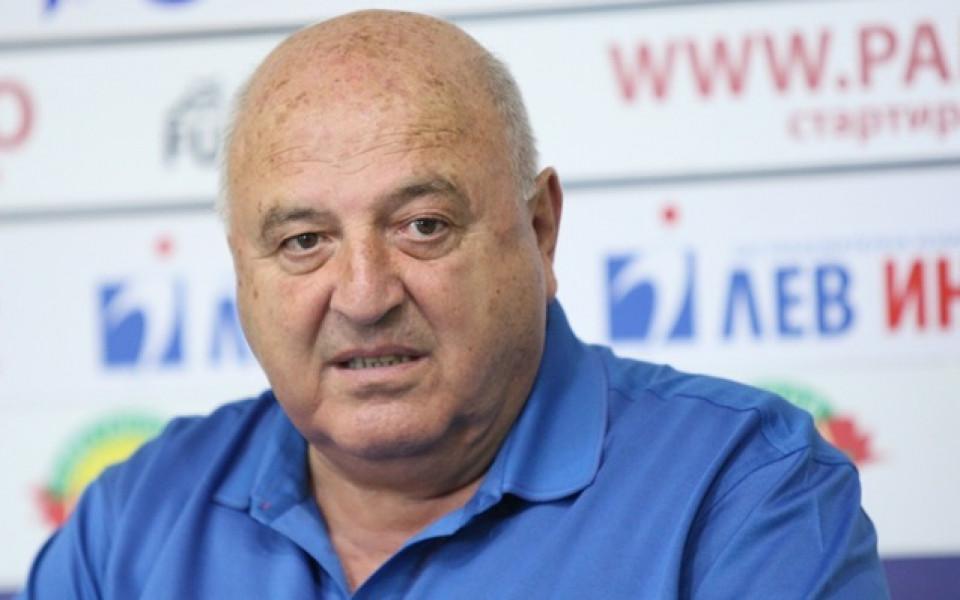 Президентът на Славия - Венци Стефанов, отправи остра критика към