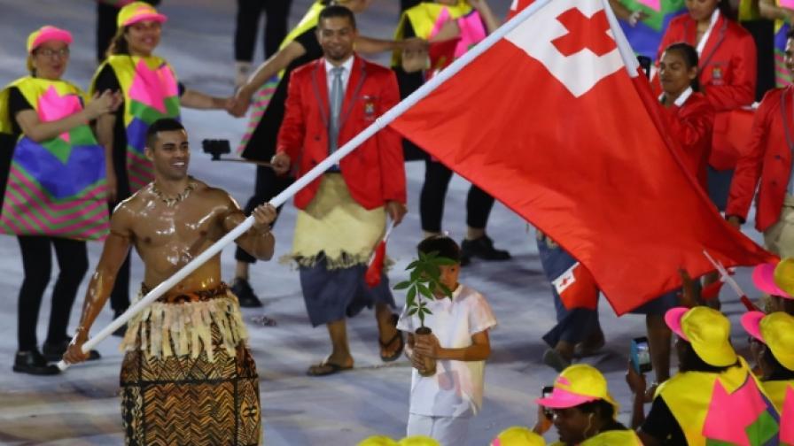 Мъжът, станал сензация на церемонията в Рио