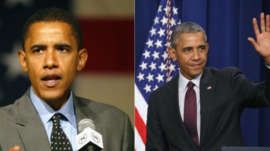 Американските президенти преди и след управлението им