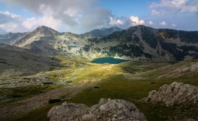 Едно райско кътче високо в планината