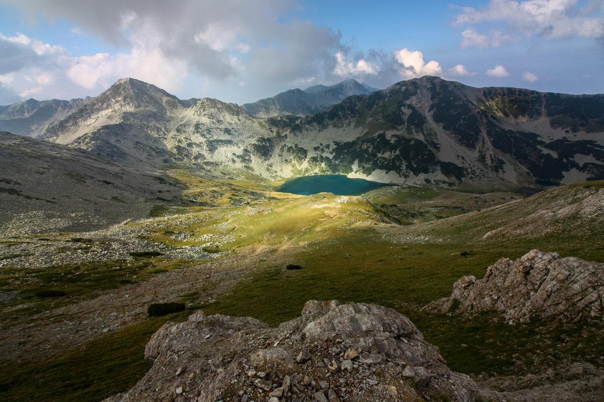 """Божествени гледки от връх """"Вихрен"""" и Кончето"""