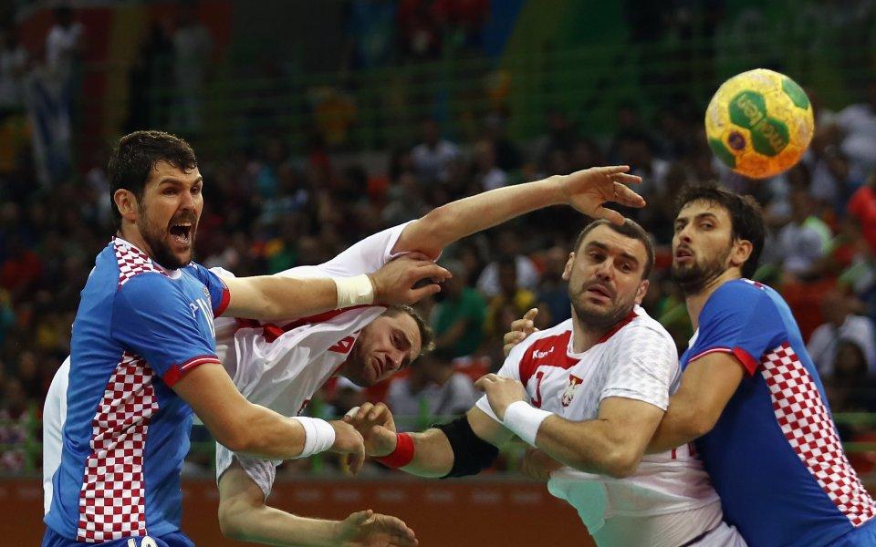 Хърватия е първият отбор на полуфиналите на европейското по хандбал