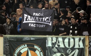 Нова варварска проява на гръцки фенове, не се игра дерби