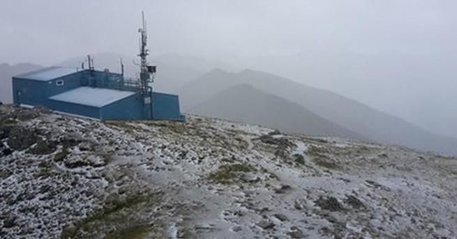 България Сняг през юли в Рила На Мусала заваля сняг