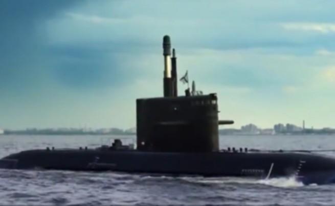Русия разработва първата си анаеробна подводница