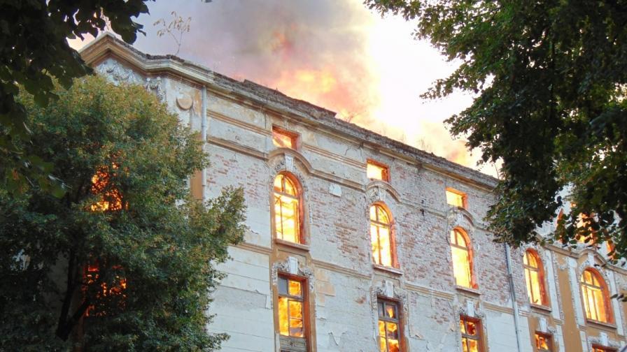 Тютюневите складове в Пловдив горели със син пламък