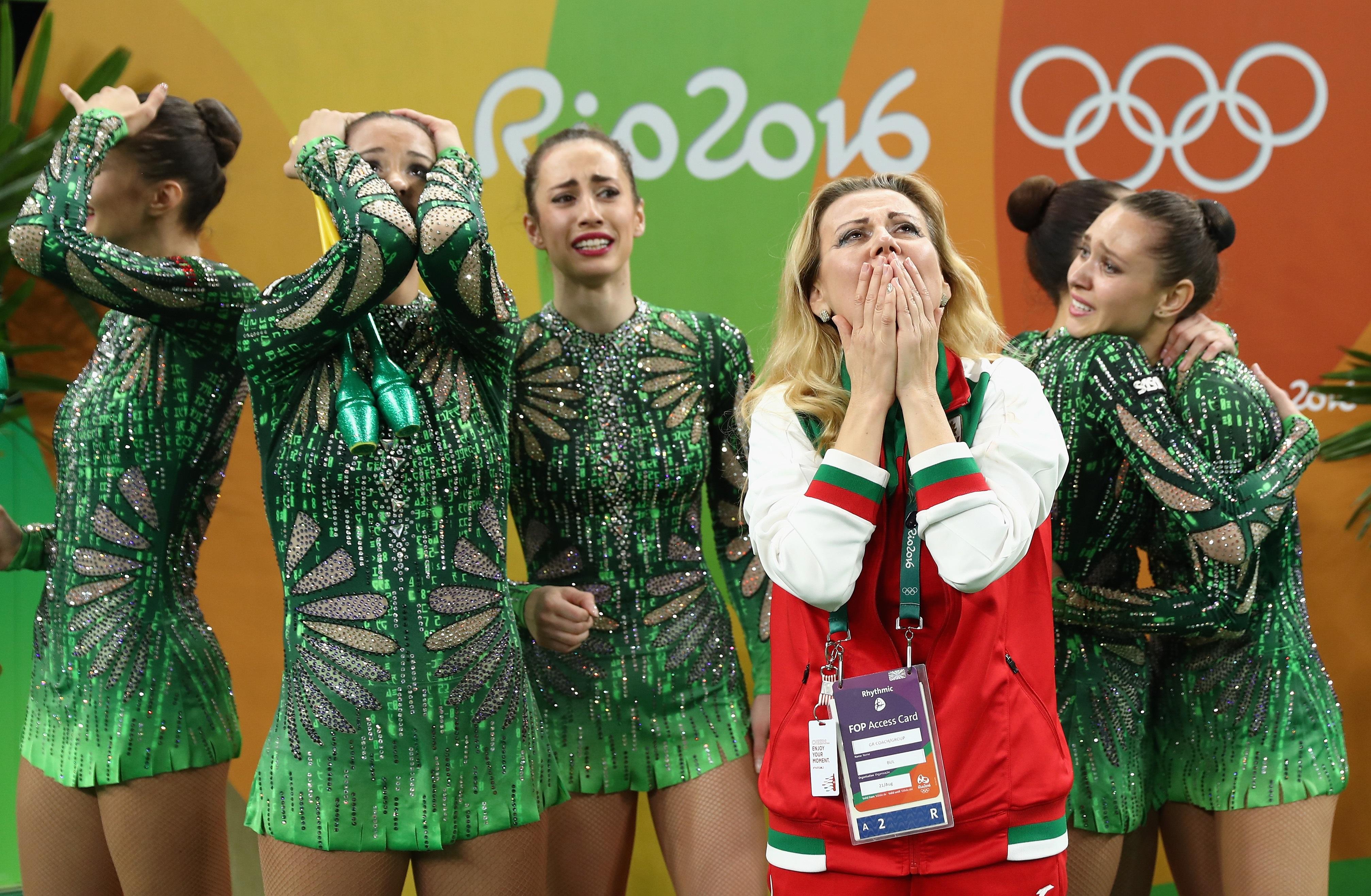 Aнсамбълът по художествена гимнастика на България завоюва бронзовото отличие на Игрите в Рио.