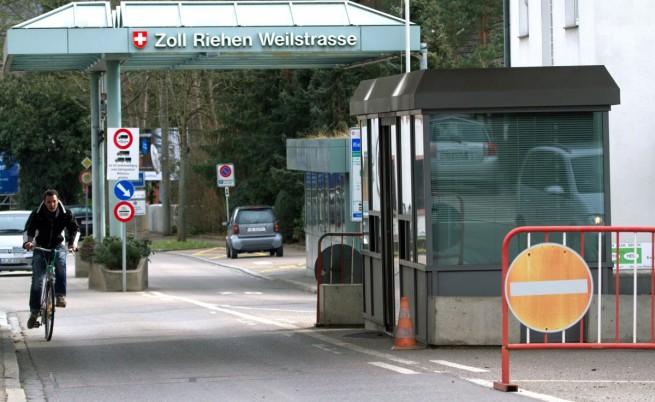 Границата между Германия и Швейцария