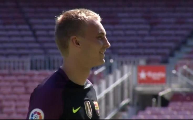 Челси и Арсенал с интерес към вратар на Барселона
