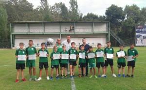 Награди за децата на Вихрен от кмета на Сандански