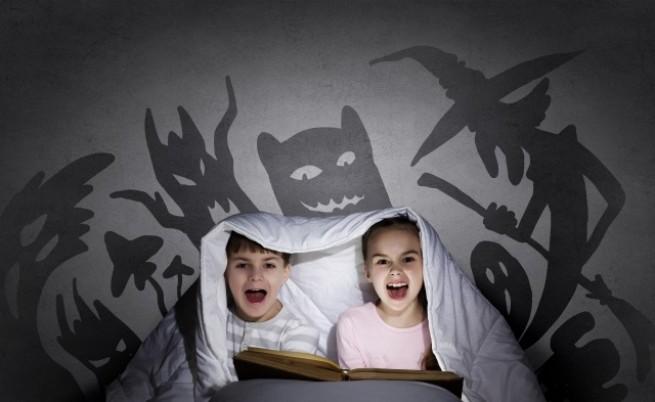 Много родители избягват да четат страшни истории на децата си