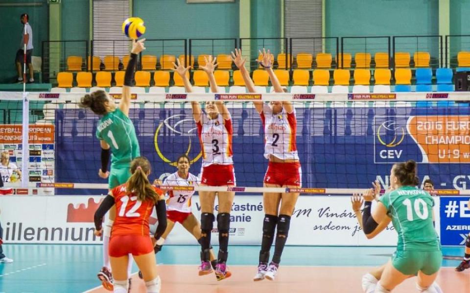 Националният отбор на България по волейбол за девойки до 18