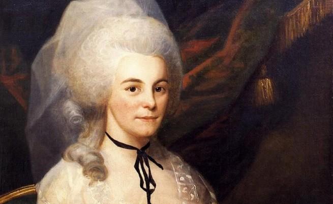 Съпругата на Хамилтън - Елизабет Шуйлър Хамилтън