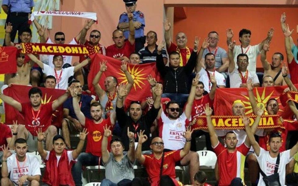 Инцидент беляза началото на Албания – Македония