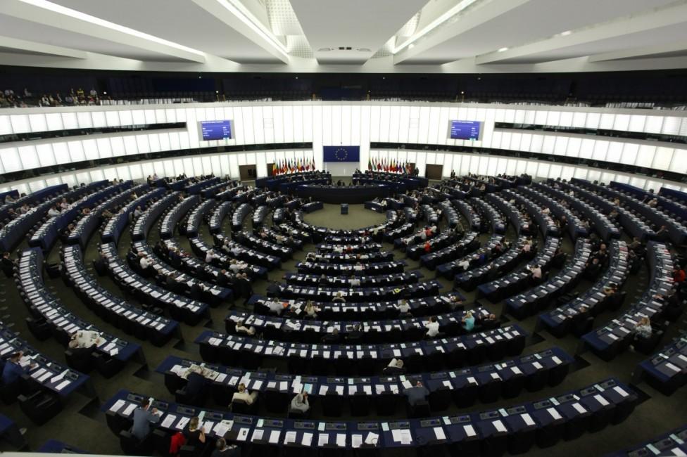 - Европейският парламент в Страсбург, Франция