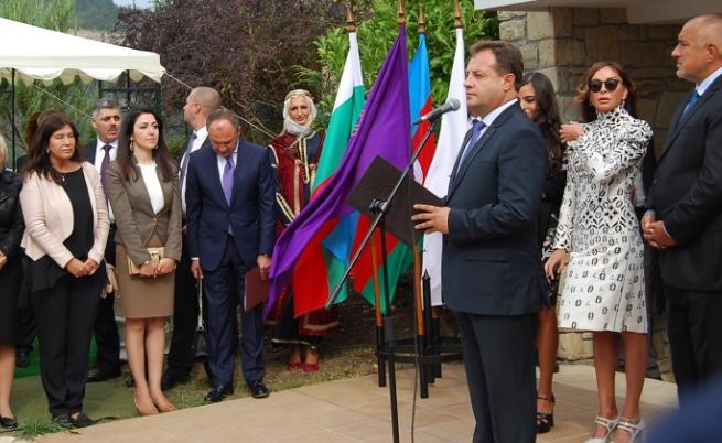 Бойко Борисов и Мехрибан Алиева във Велико Търново