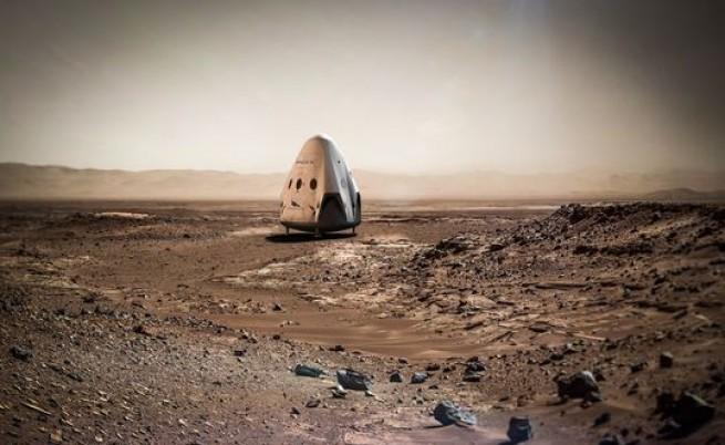 Капсулата Red Dragon, с която SpaceX иска да изпрати първите хора и оборудване на Марс