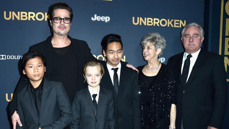 Децата на Аджелина Джоли и Брад Пит
