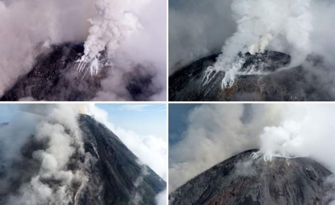 Вулканът Колима в Мексико