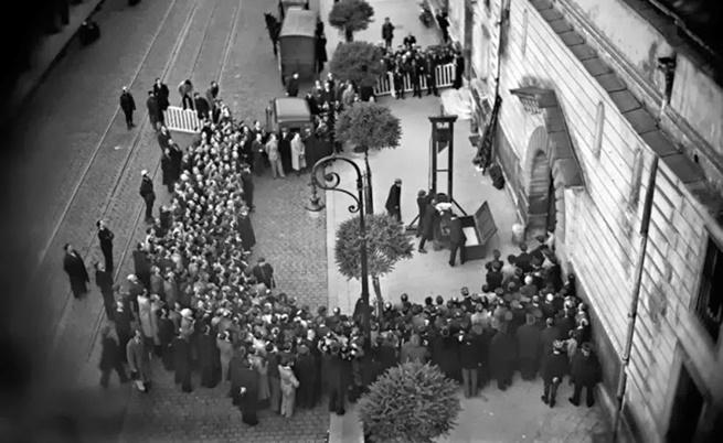 Последната публична екзекуция с гилотина през 1939 г. - Любопитно ...