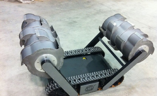 Един от първите прототипи на RASSOR