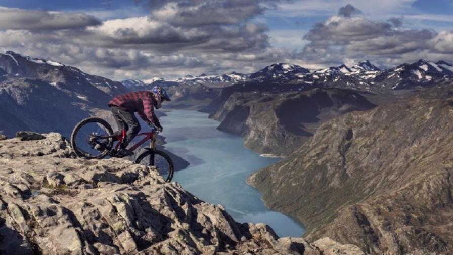 С колело из най-красивите места Норвегия