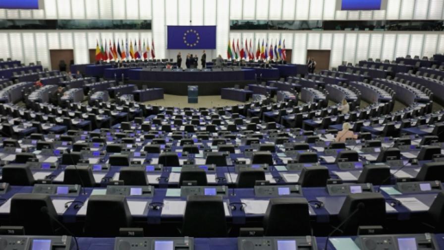 Бой в Европейския парламент, има пострадал депутат