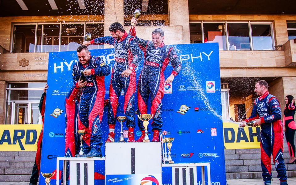 Екипажът Григоров/Миленков спечели втория сезон на Hyundai Racing Trophy