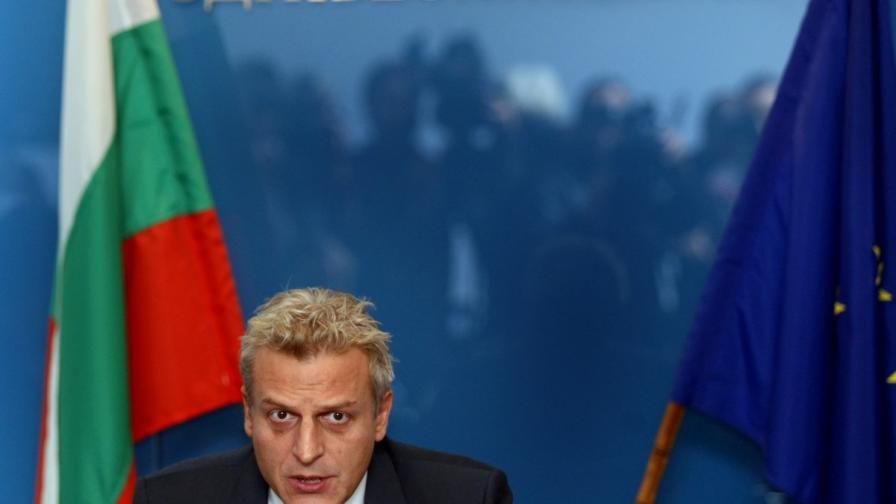 Министърът на здравеопазването Петър Москов