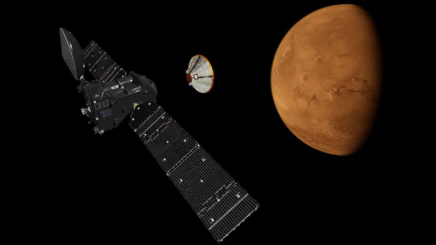 Днес Европа и Русия трябва да кацнат на Марс за първи път