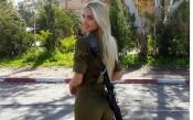 СНИМКИ: Израелка шашка в армията и на стадиона