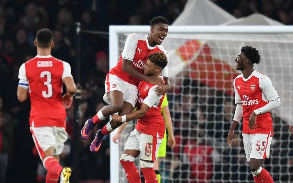 Резервите класираха Арсенал за четвъртфинал