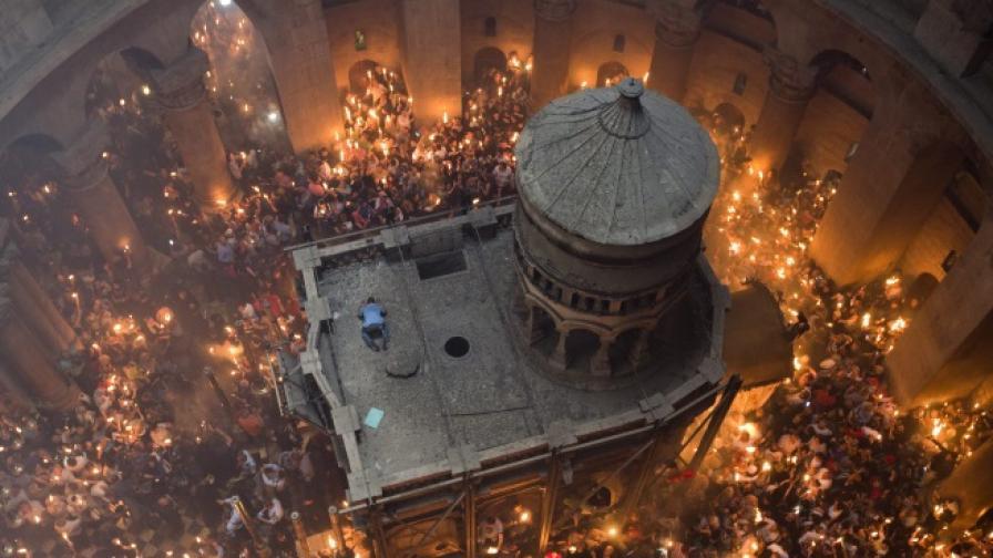 За първи път отварят гроба на Исус Христос в Йерусалим