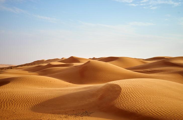 Пустинята: Това е светът, какъвто си го представяте вие.