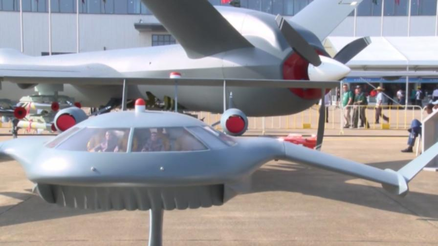 Революция в дроновете - създадоха машина чудовище