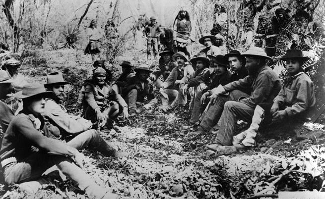 Жест към племето чокто, който ирландците върнаха след век