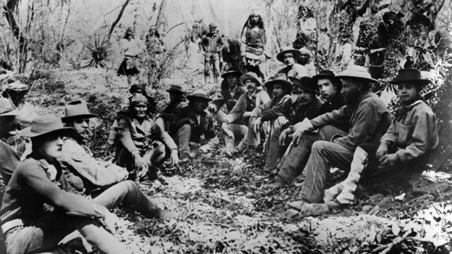<p>Жест към племето чокто, който ирландците върнаха след век</p>