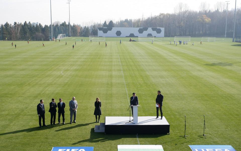 Медиен турнир по футбол на Национална футболна база в Бояна