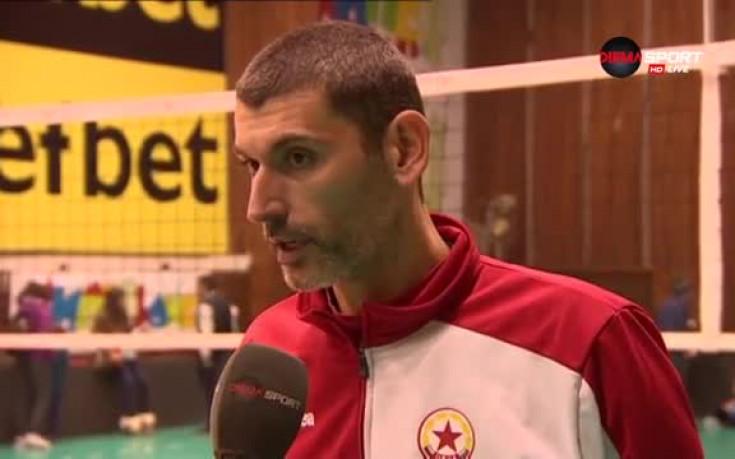 Сашо Попов: Ще играем за победа в Швейцария
