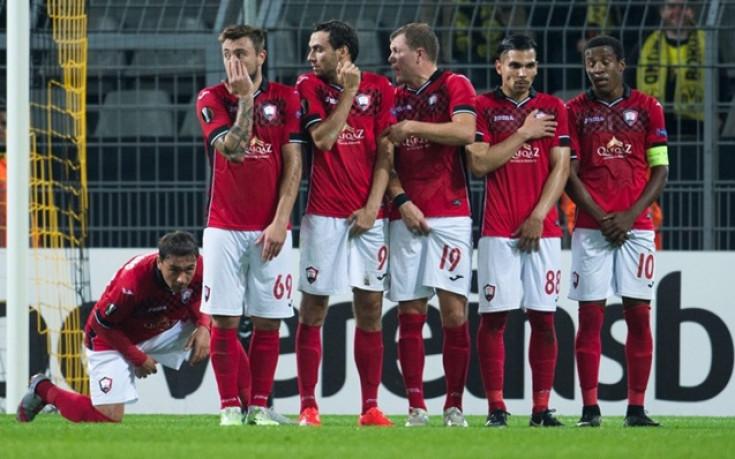 Габала помечта, но загуби от Андерлехт  в Лига Европа