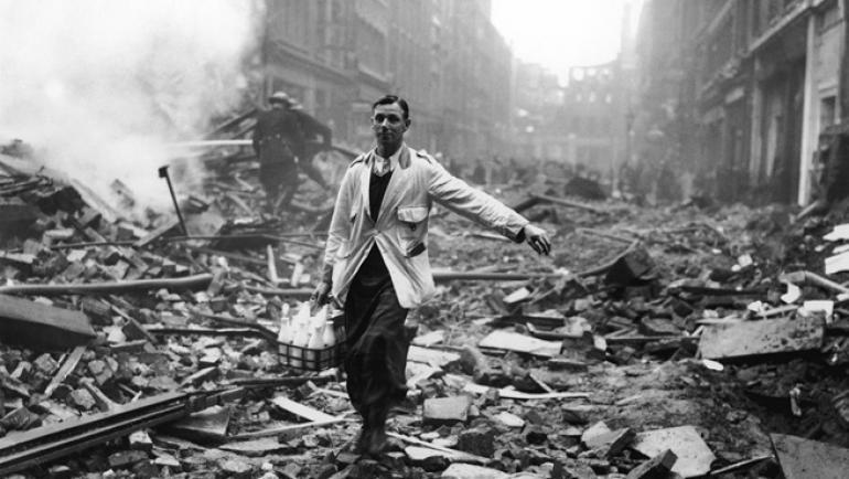 Млекарят в руините на Лондон и как се заобикаля цензурата ...