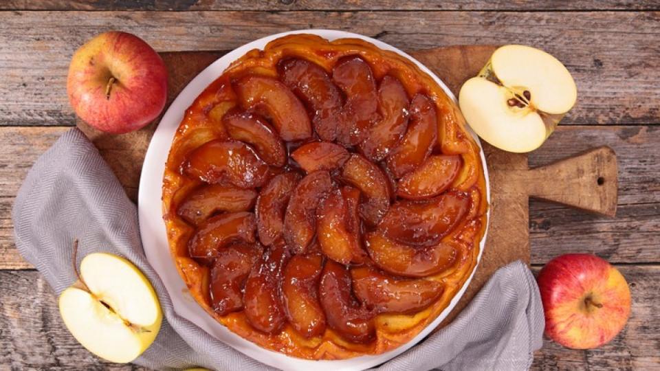Рецептата за тарт Татен от Bake off: ексклузивно за Edna.bg