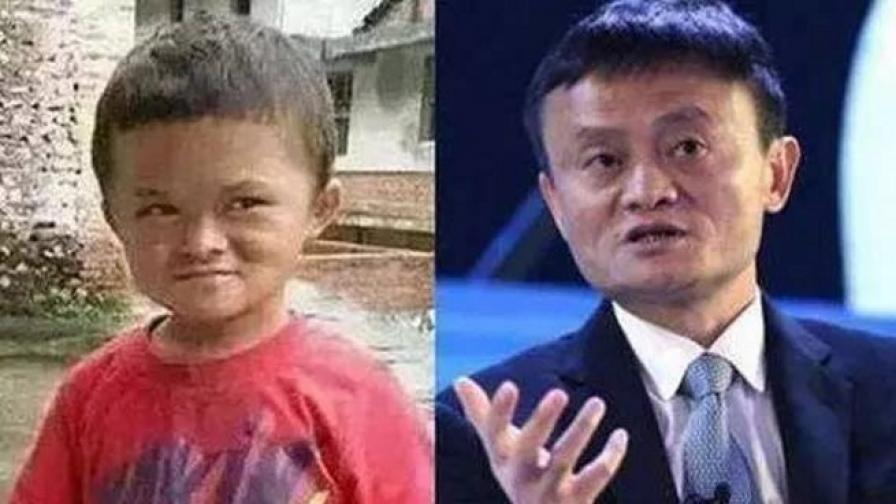 Дете е двойник на най-богатия мъж в Китай