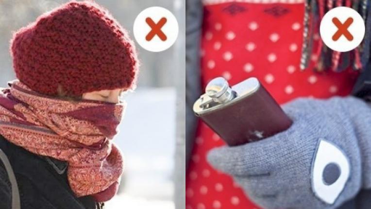 Не правете тези неща, за да сте здрави през зимата
