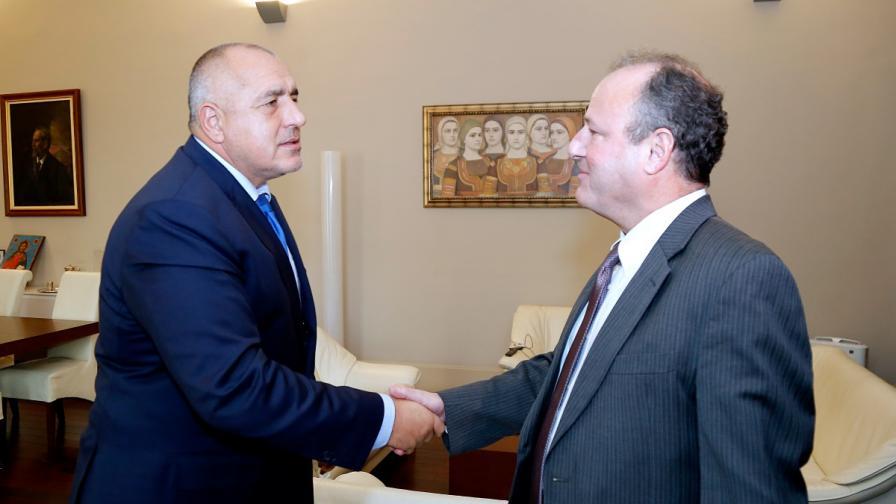 Борисов се срещна с американския посланик