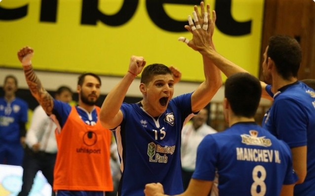 ВК Левски източник: volleyball.bg