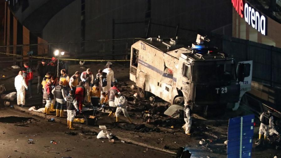 38 жертви на двойния атентат в Истанбул, МВнР: Не пътувайте