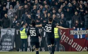 Арбитражният съд отмени наказанието на Партизан от УЕФА